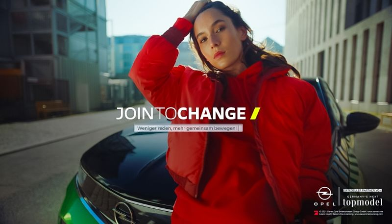 """Join to change!"": Die Opel-Digitalkampagne zu ""Germany's Next Topmodel"""
